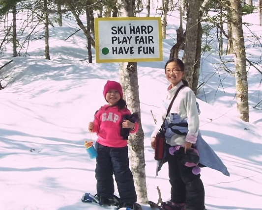 Ski hard, play fair, have fun!