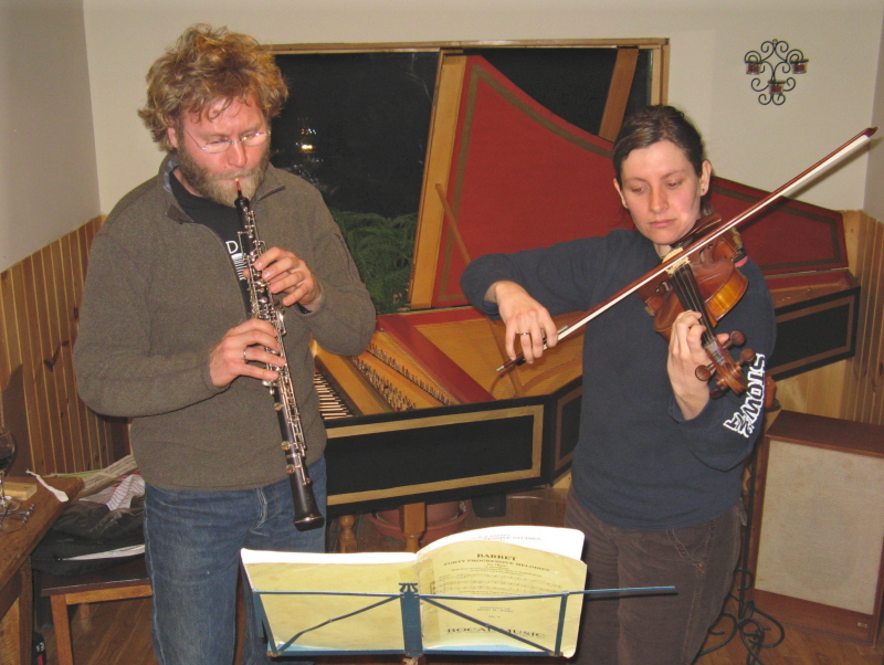 Horn & Fiddle duet in LSH