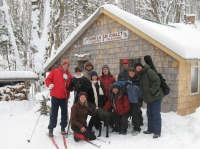 Marie & Park group al frente Chalet Jan 31