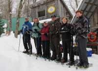 Snowshoe group.