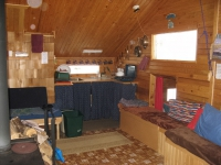 The galley in the Chalet