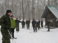 Group Ski Lesson Military